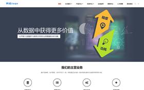 互联网技术信息化企业网站模板.响应式